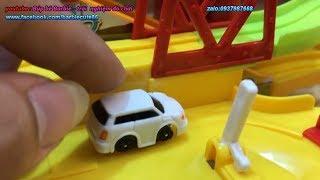 ĐỒ CHƠI TRẺ EM OTO hoat hinh VÀ ĐƯỜNG ĐUA SIÊU TỐC - TOYS KIDS REVIEW vương quốc đồ chơi đồ chơi xe
