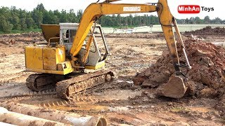 Excavator, Máy Xúc Đất Có Nhạc Thiếu Nhi (Cover)