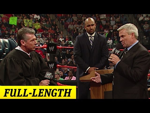FULL-LENGTH MOMENT - Raw - The Trial of Eric Bischoff thumbnail