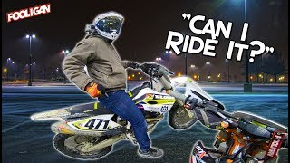 Risky Business | Wheelies on the HUSKY 450!!