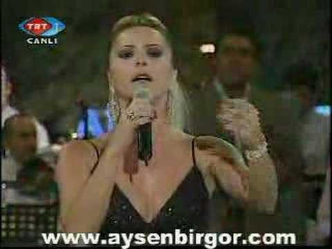 Akşam sefası - on numara Popstar Ayşen Birgör
