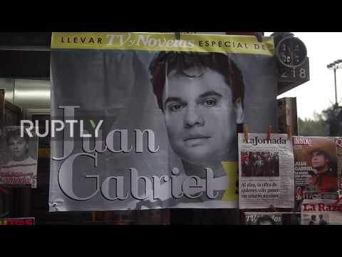 Mexico: Over half million turn out to honour Latin music legend Juan Gabriel