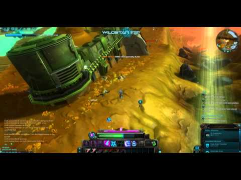 WildStar beta: SWAT: Air Superiority Soldier Path quest, Level 26 Esper