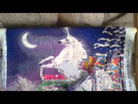 Вышивка крестиком: магия одиночных крестиков