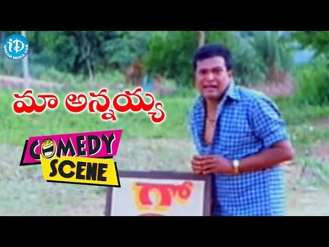 Maa Annayya Movie - Gowtham Raju AVS Comedy Scene