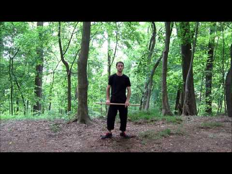 Stick Fighting Basics - Hanbo Kihon Image 1