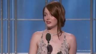 Emma Stone - Golden Globes Awards 2017