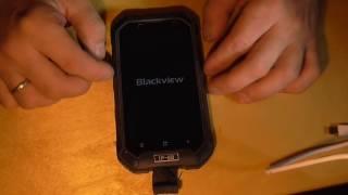 Прошиваем смартфон Blackview Bv6000 12.08.16