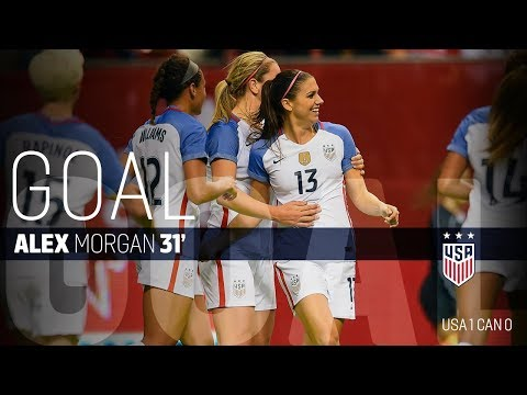 WNT vs. Canada: Alex Morgan Goal - Nov. 9, 2017