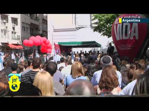 Argentina marks 1992 Israeli embassy bombing anniversary in Buenos Aires