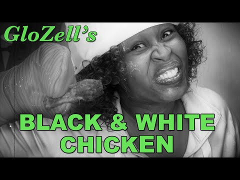 Glozell's Black and White Chicken