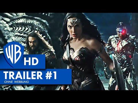 JUSTICE LEAGUE - Trailer #1 Deutsch HD German (2017)