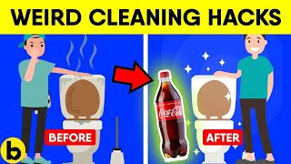 9 Weird But Useful Cleaning Hacks