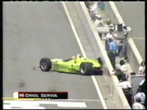 2000 CART Montegi - Oriol Servia crash Video