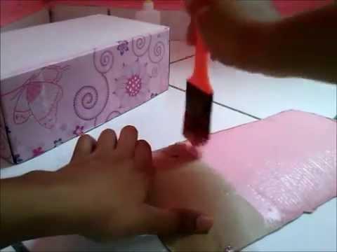 Como fazer uma cama para boneca Monster High ou Barbie
