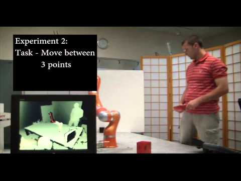 A depth space approach to human-robot collision avoidance