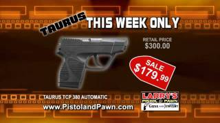 Federal Ammo Sale November 2011 - Taurus TCP 380