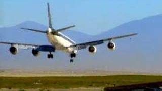 Cross-wind landing aborted!!