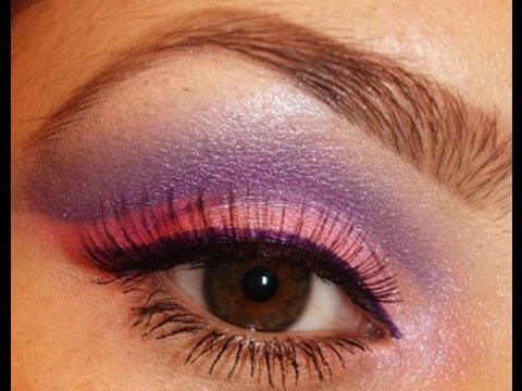 Makeup Purple Pink Eye
