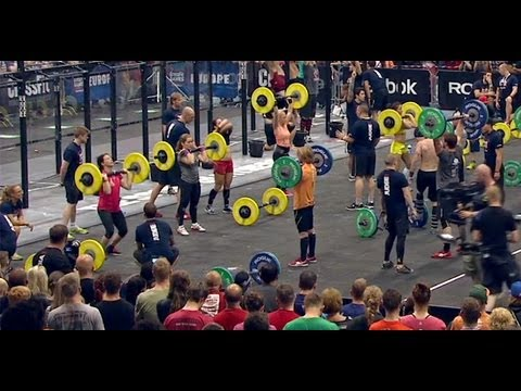 CrossFit - Europe Regional Live Footage: Team Event 6