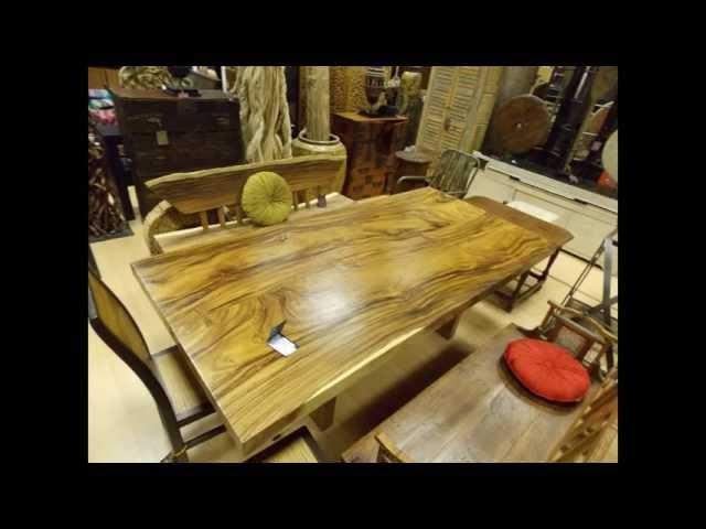 Мебель из дерева на ютубе