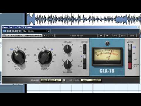 #3 - Waves Обзор: CLA-серия