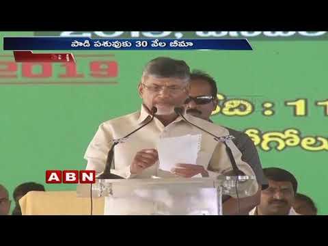 CM Chandrababu Naidu doubles pension amount to Rs 2,000 | ABN Telugu