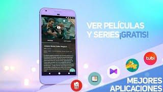 ✔️ Top 5 MEJORES APLICACIONES para ver TV, PELÍCULAS 🎬 y SERIES GRATIS en Android | Full HD | 2018
