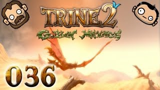 Let's Play Together Trine 2 #036 - Der Wurm kotzt [720p] [deutsch]
