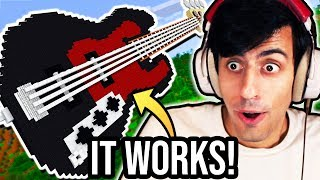 I Made a Bass in Minecraft and Played It