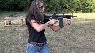 THIS GIRL BUMP-FIRES LIKE A BOSS