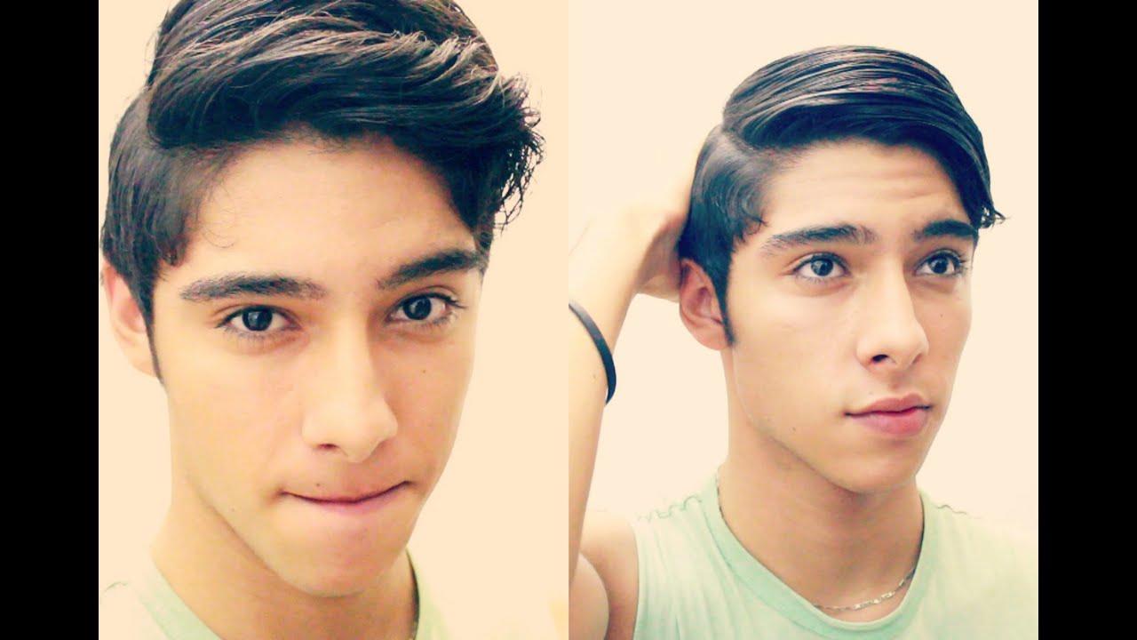 2 peinados para hombre facil rapido dd youtube - El mejor peinado del mundo para hombres ...