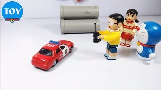 Doraemon toy funny toy stories stop motion part 1