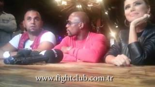 Floyd Mayweather Press Conference in istanbul
