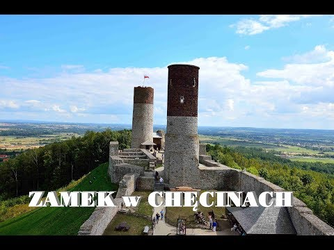 Zamek W Chęcinach - Zamki Polskie. Chęciny Castle In Poland.