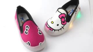 MB slip on hello kitty sandals lighting shoes