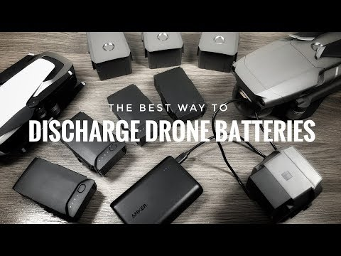 Best Way To Discharge DJI Drone Batteries for Travel