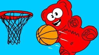 BASKETBALL ADVENTURES OF JELLY GUMMY BEAR