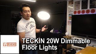 TECKIN 20W Dimmable Floor Lights