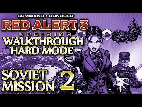Ⓦ Red Alert 3 Uprising Walkthrough ▪ Hard - Soviet Mission 2 ▪ Murmansk