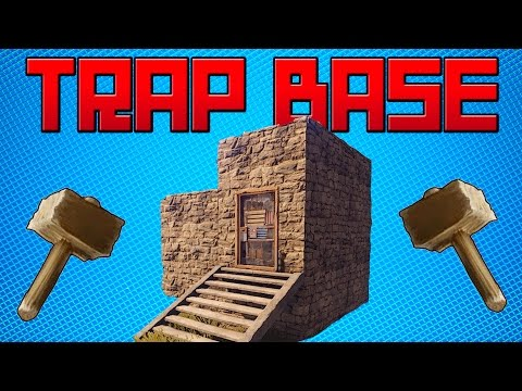 TRAP BASE - Sneaky Ladder Hatch Trap | RUST