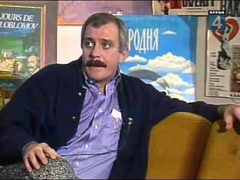 Телевизионное знакомство ЦТ, 1988) Никита Михалков  Ведущий — Урмас Отт