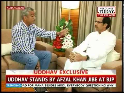 Uddhav Thackeray to Rajdeep: What's wrong if I aim to be CM?