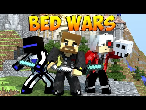 Minecraft Bed Wars #9 - Трио против всех
