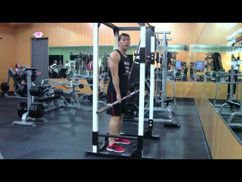 Rack Pull -  HASfit Deadlift Exercise Demonstration - Rack Pulls Form - Increase Deadlift