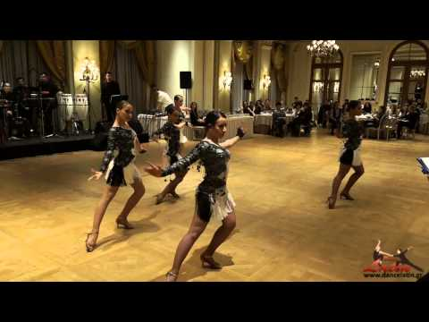 3rd National Latin Competition   Live Orchestra   Juveniles All Ladies Latin Team 01