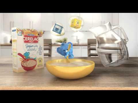 Nestle Cerelac -  نستله زبادى سيريلاك الجديد video