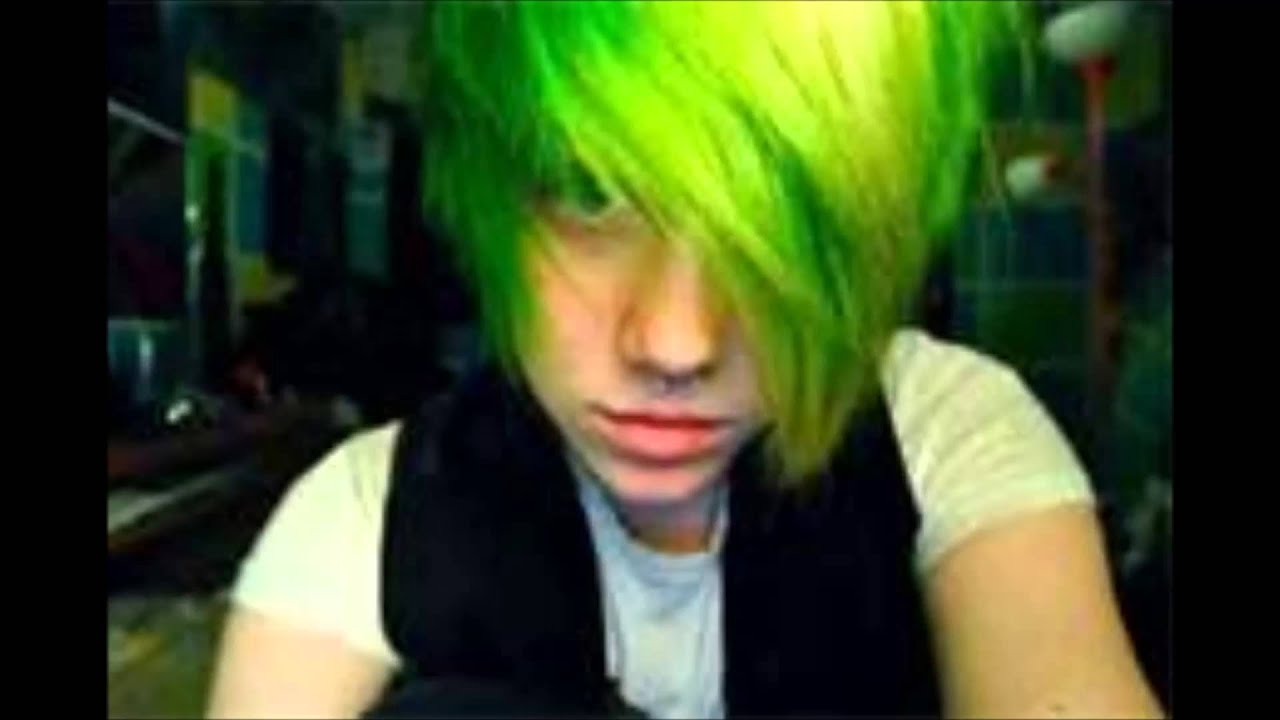 Как сделать волосы зелёными
