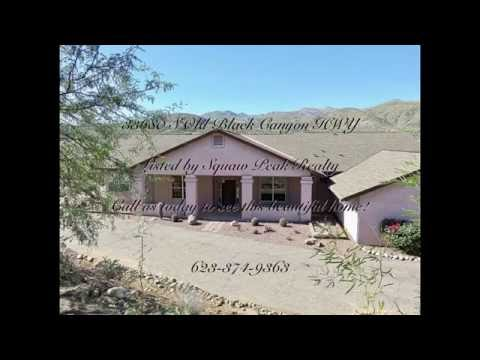 Custom 4 bedroom home on acreage 33680 S Old Black Canyon HWY