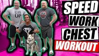 "Powerlifting Speed Bench | Chest Workout | ""Mike O'Hearn"" ""Stan Efferding"" ""Matt Wenning"""